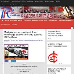 Marignane : un rond-point en hommage aux victimes du 5 juillet 1962 à Oran