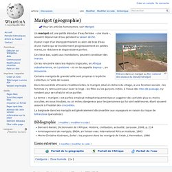 Marigot (géographie)