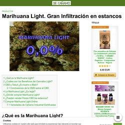 Marihuana Light. Gran Infiltración en estancos
