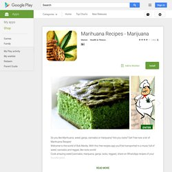 Marihuana Recipes - Marijuana
