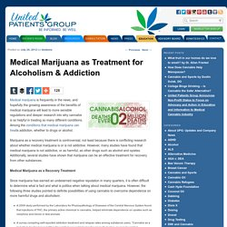 Using Medical Marijuana To Treat Alcoholism & Addiction
