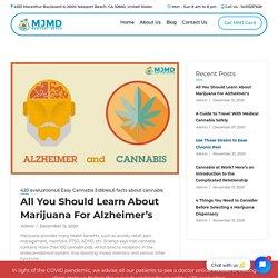 Does Medical Marijuana Help Alzheimer's Patients