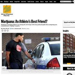 Marijuana: An Athlete's Best Friend?