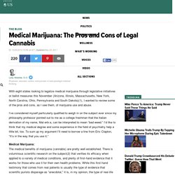 Medical Marijuana: The Pros and Cons of Legal Cannabis