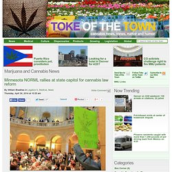 Toke of the Town - Cannabis news, rumor and humor
