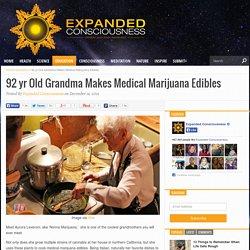 92 yr Old Grandma Makes Medical Marijuana Edibles