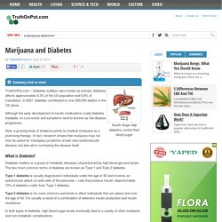 Marijuana and Diabetes