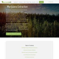 Marijuana Extraction Method and Products