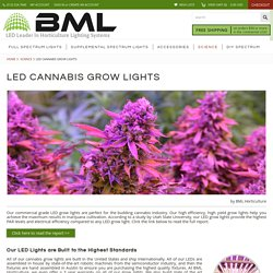 LED Marijuana Grow Lights