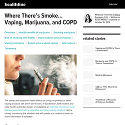 Marijuana and Your Lungs: Is Vaping Safe for People with COPD?