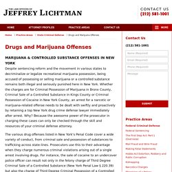 New York Marijuana Possession Lawyers