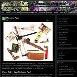Marijuana Pipes » Weed Smokers Guide