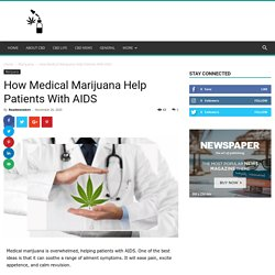 How Medical Marijuana Help Patients With AIDS