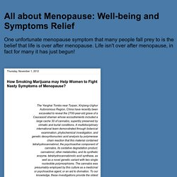 Well-being and Symptoms Relief