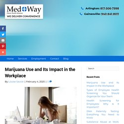 Marijuana Use and Its Impact in the Workplace