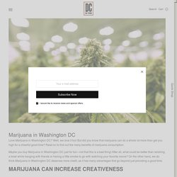 Marijuana in Washington DC