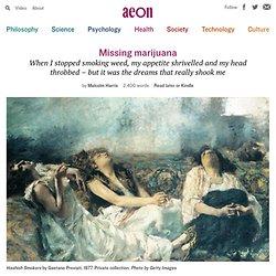 Is marijuana withdrawal a real thing? – Malcolm Harris