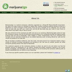 Marijuana2go.com - About Us