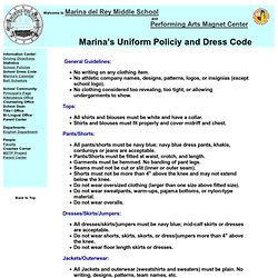essay on school dress code