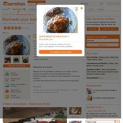 Marinade pour barbecue - Recette de cuisine Marmiton : une recette