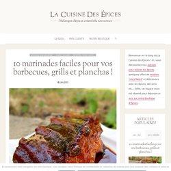10 Marinades faciles & délicieuses pour Barbecues & Planchas !