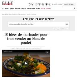 10 idées de marinades pour transcender un blanc de poulet