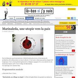 Marinaleda, une utopie vers la paix