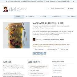 Marinated Chicken in a Jar