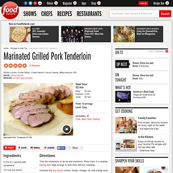 Marinated Grilled Pork Tenderloin Recipe :