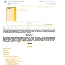 2004 - Marine Biotoxins
