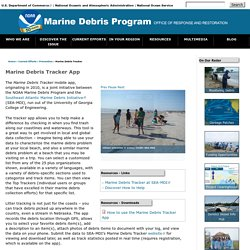 OR&R's Marine Debris Program