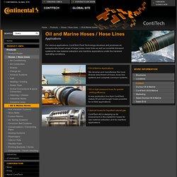 Oil and Marine Hoses / Hose Lines – ContiTech AG