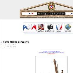 Rome Marine de Guerre :Maquetland.com
