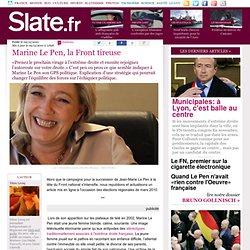 Marine Le Pen, la Front tireuse