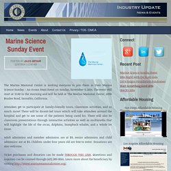 Marine Science Sunday Event
