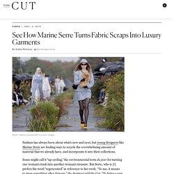 See How Marine Serre Up-Cycles Fabrics Like Denim