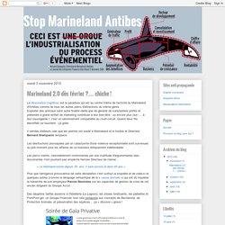 Stop Marineland Antibes: Marineland 2.0 dès février ?… chiche !
