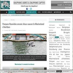 Parques Reunidos envoie Jésus sauver le Marineland d'Antibes - Dauphinlibre.be
