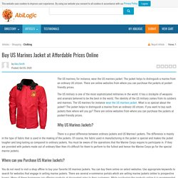 Buy US Marines Jacket at Affordable Prices Online