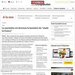 """La marinière est devenue la bannière du """"made in France"""" - LExpress.fr"""
