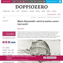 Mario Giacomelli: verrà la morte e avrà i tuoi occhi