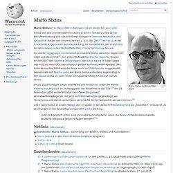 Mario Sixtus