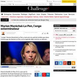 Marion Maréchal-Le Pen, l'ange exterminateur
