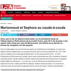 Marionnaud et Sephora au coude-à-coude - DPH (Droguerie, parfumerie, hygiène)