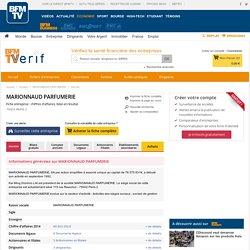 Société MARIONNAUD PARFUMERIE à PARIS 8 (Chiffre d'affaires, bilans, résultat) avec Verif.com - Siren 388764029
