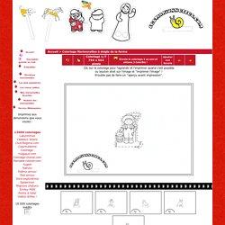 Les marionnettes gratuites coloriages découpages Marionnettes_à_doigts_de_la_ferme/decoupage-marionnette-ferme-1