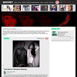 Trent Reznor ♥ Mariqueen Maandig photo henrycoachella's photos - Buzznet