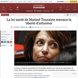La loi santé de Marisol Touraine menace la liberté d'informer