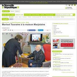 Marisol Touraine à la maison Marjolaine - 07/02/2016