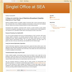 Broadband Satellite Services – Singtel office at SEA
